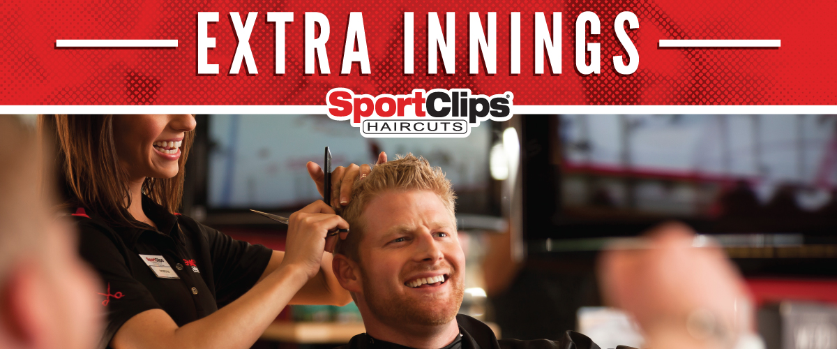 The Sport Clips Haircuts of North Wales  Extra Innings Offerings