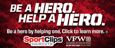 Sport Clips North Wales ​ Help a Hero Campaign
